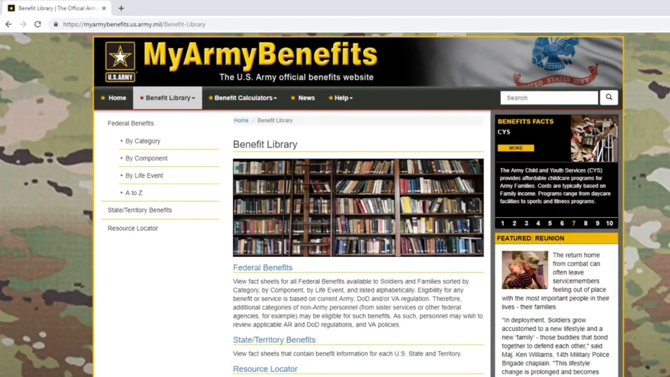MAFB Benefit Library